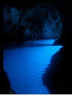 Blue Caves. Hvar, Croatia