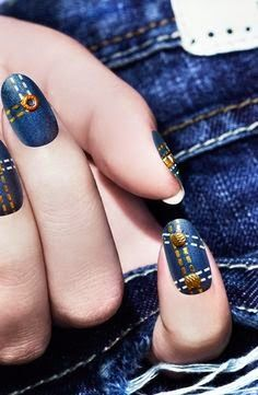 Feather, Denim, and Emerald Tips Can Be Yours Thanks to Ciaté's Newest Nail Art…