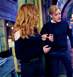 Clary Et Jace, Clary Fray, Shadowhunters Tv Series, Shadowhunters The Mortal Instruments, Jace Wayland, Alec Lightwood, Fangirl, Actor Quotes, Dominic Sherwood
