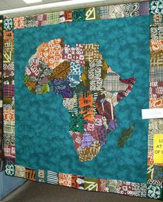 652 best map quilts cartographic textile art images on pinterest viewers choice awards first place quilt show 2008 out of africa quiltshow gumiabroncs Gallery