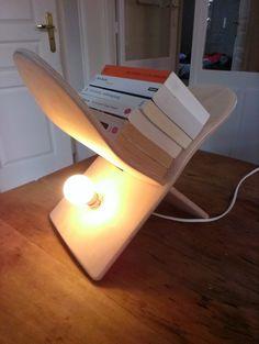 DIY: Lampe design skateboard par JudahWasGood sur Etsy. #design #skateboard #light