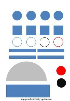 Free Printable Star Wars R2D2 Droid Craft Template. This is a perfect craft activities for little kids at a Star Wars party. #starwarspartyideas #starwarskidscraft #starwarsprintablefree #starwarskidsactivities