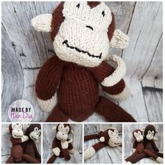 Maimuțică tricotată | Knitted Monkey #monkeydoll #monkey #knittedmonkey #knittersofinstagram #knitting #handia #handiamade #tricotatebucuresti #handmade #handmadeisbetter #handmadebucharest #handmadedoll #jucarie #forkids #forchildren #ideecadou