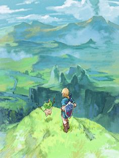 The Legend Of Zelda, Legend Of Zelda Breath, Botw Zelda, Link Zelda, Breath Of The Wild, Anime, Fire Emblem, All Art, Art Pictures