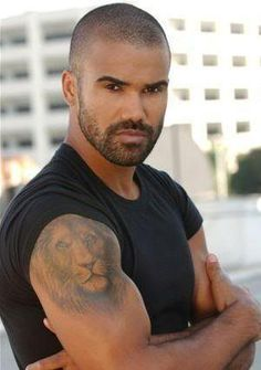 Shamar Moore - Love him on Criminal Minds...the show, not so much - pretty violent!!!