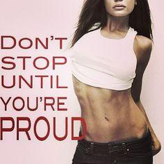 Don't stop til ur proud