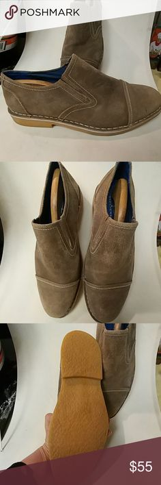 New no tags Mark Nason slip-on Skechers size 10 Very classy look suede leather upper balance man-made materials.  Just slip out and you're ready to go! Shoes Loafers & Slip-Ons
