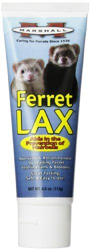 Marshall 4-Ounce Ferret Lax Hairball and Obstruction Remedy >>> More info could be found at the image url.