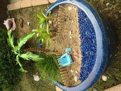Our little fairy garden ....beach style ;)