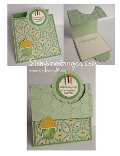 Flippin' Birthday -  Ginger Rabesa, This card was inspired by a video that France Martin did. Thanks France!
