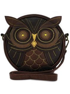 If you love owls, this Loungefly brown crossbody shoulder bag purse is for you! Available at Purple Leopard Boutique. Brown Crossbody Bag, Crossbody Shoulder Bag, Leather Crossbody Bag, Brown Leather Purses, Brown Purses, Owl Purse, Owl Bags, Vintage Owl, Purses And Bags