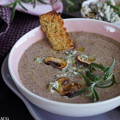 Kremet soppsuppe med blåmuggost - ENEstående MatENEstående Mat
