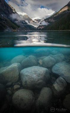 iconic Lake by Paul Zizka Photography