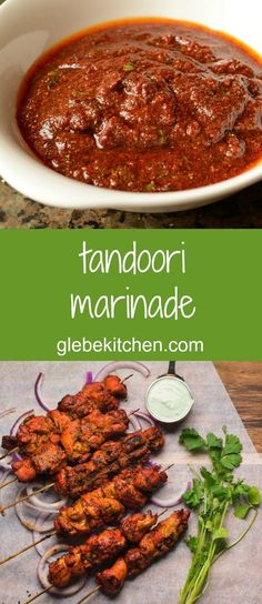 Leave the yoghurt out completely and add the lemon juice right at the end for a tandoori marinade that works every time.Leave the yoghurt out completely and add the lemon juice right at the end for a tandoori marinade that works every time. Chicken Shashlik, Tandori Chicken, Tandoori Marinade, Tandoori Masala, Indian Chicken Marinade, Chicken Tikka Kebab, Tandoori Recipes, Marinade Sauce, Gastronomia