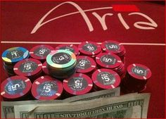 aria poker tables
