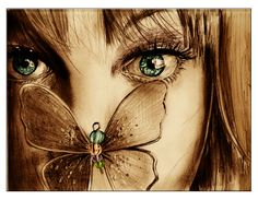 girl and butterfly | New beginnings ♥ (most important at the end)