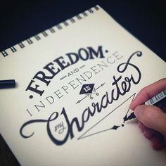 Typographic Ataturk Quotes #design