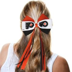 Philadelphia Flyers Ladies Streamer Bow