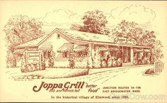 Joppa Grill East Bridgewater Massachusetts...I dream of their delicious, buttery, cinnamon-y Joppa Sticks...
