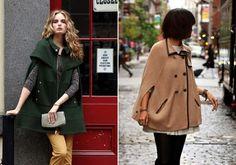 A stílusod meghatározó eleme lehet a nőies, poncsó szabású kabát.