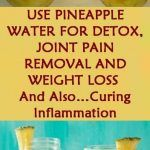 Use pineapple water for detox joint pain removal and weight loss and also curing inflammation. Fat Burning Water, Fat Burning Detox Drinks, Detox Water Benefits, Detox Water For Clear Skin, Digestive Detox, Natural Detox Drinks, Water Recipes, Lunch Recipes, Drink Recipes