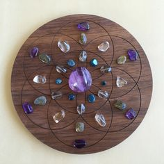 'Intuition' Crystal Grid