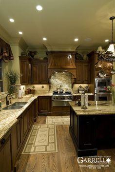 Havenhurst 11138, #Kitchen, European, French Country & Mountain #House #Plan Photos