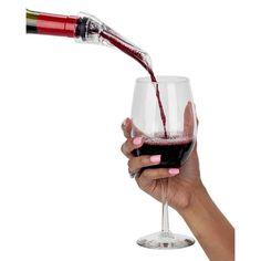 Global VinoNinja Wine Aerator Pourer Spout and Decanter