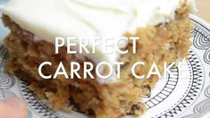 Perfect Carrot Cake | The Best Carrot Cake Recipe EVER! Oreo Bars, Pecan Pie Bars, Pound Cake Recipes, Cookie Recipes, Dessert Recipes, Oatmeal Chocolate Chip Cookies, Chocolate Cake, Classic Pound Cake Recipe, Garbage Bread