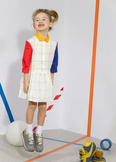 AW14 sneak peek - Mondrian dress-Quenotte