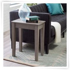 Turner Chair Side Table - Gray