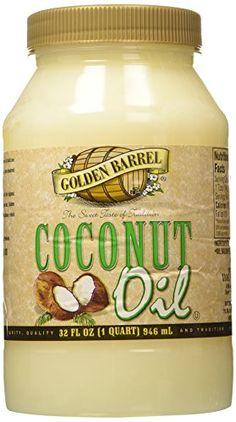 Golden Barrel Coconut Oil 32 Oz -- Instant discounts available  : baking desserts recipes