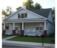 Bungalow Style House Plan - 2 Beds 2 Baths 1302 Sq/Ft Plan #63-273