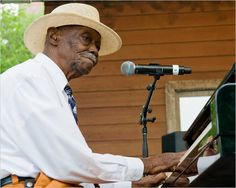 """Pinetop Perkins""  The boogie-woogie piano player"
