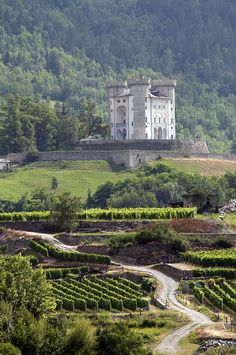 Château d'Aymavilles, Val d'Aoste, en Italie