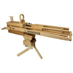 Rubber Band Gatling Gun - http://1uptreasures.com