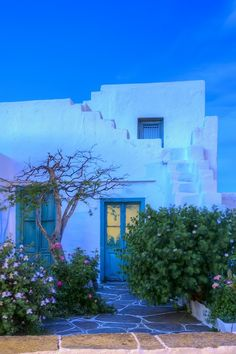 House in Sifnos island..