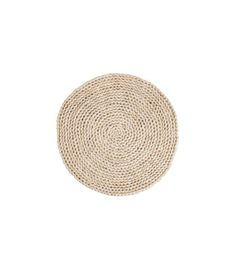 Set de Table Rond en Rotin - Diam. 38cm