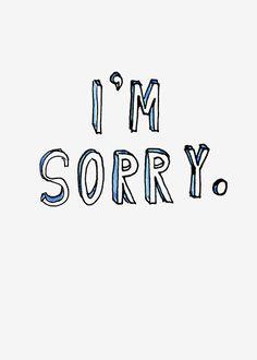 Margaret Berg Art: I'm+Sorry+Scribble