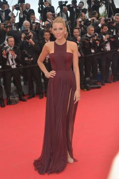 Blake Lively in Gucci at the 2014 Cannes Film Festival
