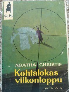 Agatha Christie:  Kohtalokas viikonloppu (Finnish).  (The Hollow.) (1961)