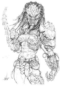 FEMALE PREDATOR 2 by tdm-studios on DeviantArt