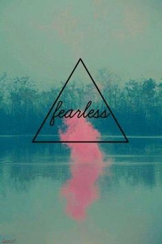 Fearlessness is not the absence of fear it's the presence of bravery #BeFearless #VowToBeFearless