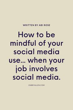 It's clear we're craving a more mindful way of life in a hectic, digital world. But it isn't easy to achieve a happy medium - especially when a large portion of your working day involves spending time online.  #socialmedia #digitaldetox #slowliving