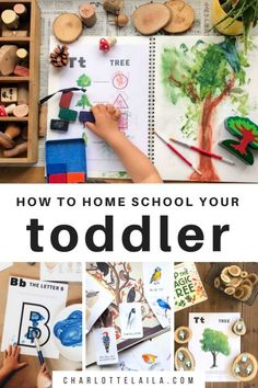 Teaching Preschool At Home  — Habitat Schoolhouse