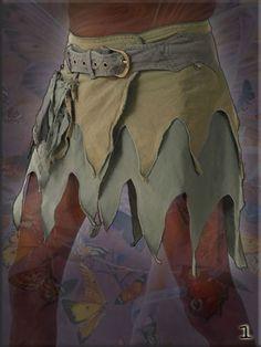 Fairy mini Skirt with pocket. by CyberGypsyFashion on Etsy, $49.00