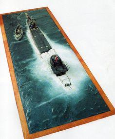 WW II Submarine Crew Rescue (Scale Unknown) (1)