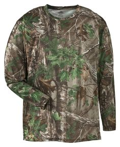 RedHead® Stalker Lite II Camo T-Shirts for Men - Long Sleeve   Bass Pro Shops…
