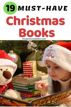 Best Christmas Books For Kids including classic books and ones that may be new to your family; start a Christmas book advent tradition and add these 19 holiday and winter themed books to your book collection