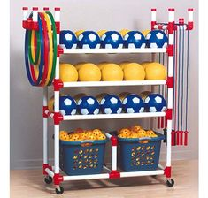 PVC Playground Cart | Discover Storage Options Here